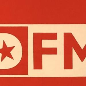 初のラジオ番組に出演