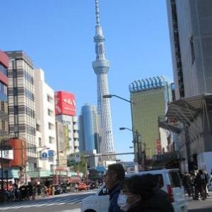 東京3泊4日:はとバス・東京スカイツリーとミナペルホネン