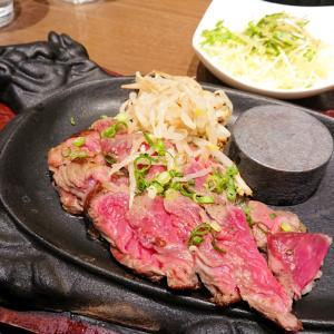 博多駅ランチ【ニクヤキベンジャミン】お昼からガッツリ!牛ステーキ鉄板を満喫…☆