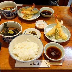 天神ランチ【割烹よし田】名物鯛茶と美味しい天ぷらを満喫…☆