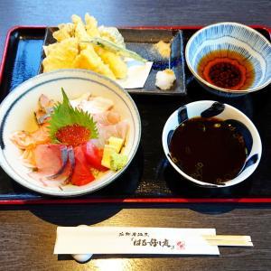 春吉グルメ【はる好し庭】期間限定の海鮮丼と天ぷら盛り合わせ夜定食を個室で満喫…☆