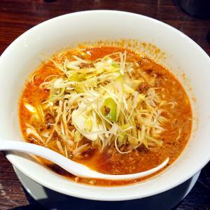 天神ランチ【ちー坊のタンタン麺】辛さや麺を選べる美味しいタンタン麺を満喫…☆