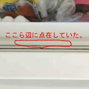 我が家の冷凍庫のパッキンがカビだらけだった。