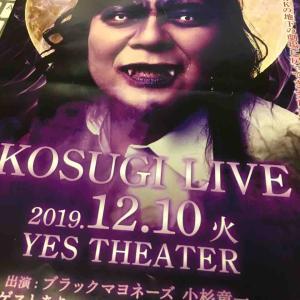 今年最後の小杉LIVE。
