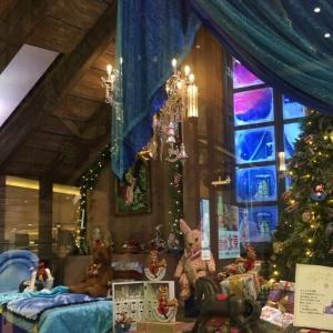 阪急百貨店のウィンドウクリスマス