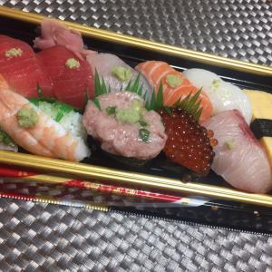 「たかぎ」のお寿司