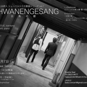 [歌曲] シューベルト/歌曲集「白鳥の歌」 (2019/12 井上雅人・大谷研人 シューベルト三大歌曲シリーズ)