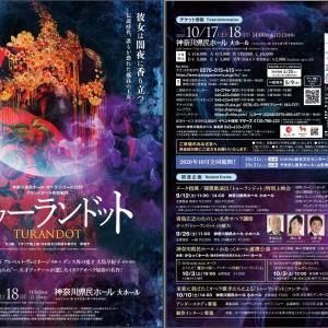 [オペラ] プッチーニ/「トゥーランドット」 (2020/10 神奈川県民ホール・オペラ・シリーズ2020)
