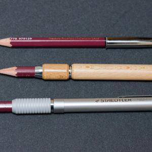 鉛筆エクステンダーいろいろ