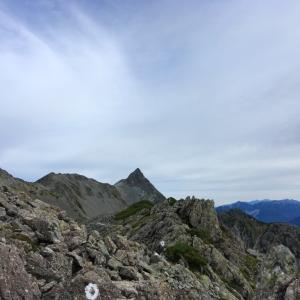 槍ヶ岳 後編 -北アの3000m級稜線歩き