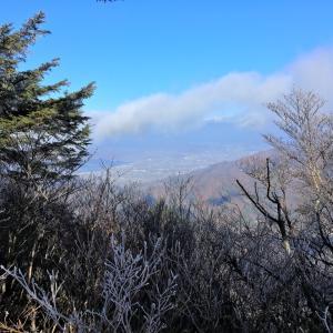 十二ヶ岳 節刀ヶ岳 後編 -御坂山塊の中央へ