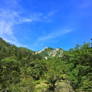 鳳凰三山 前編 - オベリスクへ 滝巡る急登ドンドコ沢