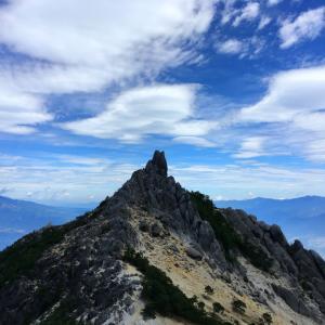 鳳凰三山 後編 - 白砂青松 絶景の稜線