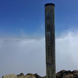 赤岳 後編 -夏終わる八ヶ岳の頂から