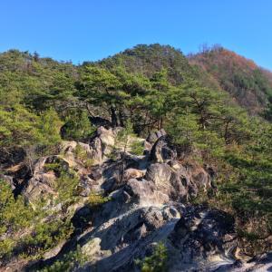 小松山 淡雪山 興因寺山 -千代田湖東の山々
