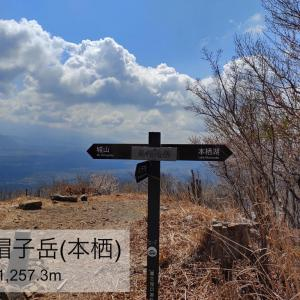 烏帽子岳(本栖) -武田領の富士北麓最前線