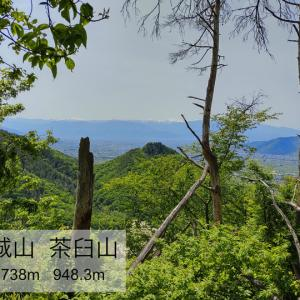 蜂城山 茶臼山 -勝沼の城跡