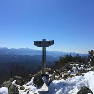 守屋山 前編 -諏訪の大展望地 東峰からの景色