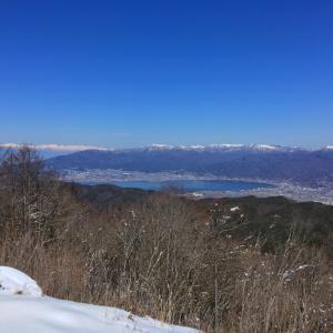 守屋山 後編 -諏訪の大展望地 西峰からの景色