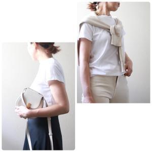白Tシャツの着こなしコーデ術