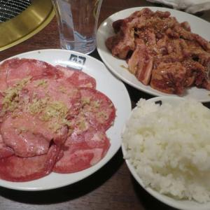 牛角で焼き肉