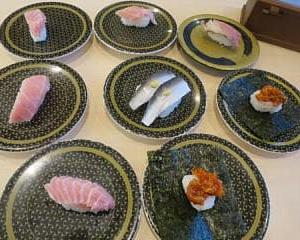はま寿司で大トロを堪能する