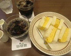 久しぶりの岡山珈琲館