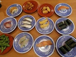 久しぶりに無添くら寿司