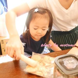 【photoレポ】9月14日㈪「桃のレアチーズケーキ」Lesson