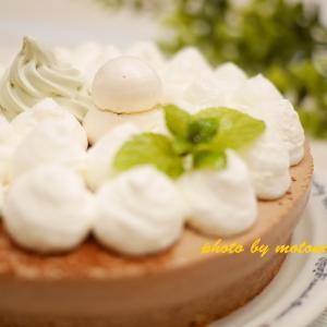 12月お家教室「クリスマスケーキLesson~チョコレートムースケーキ~」