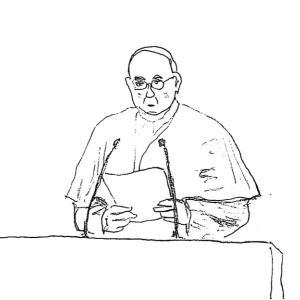 「神に背くテロ行為」来日中のローマ教皇の言葉は強硬な安倍批判でもある
