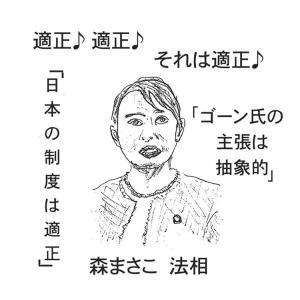 抽象と具象の狭間でゴーンと森と菅と日本の司法制度