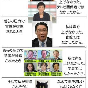 ビビる記者、学者標的、、毛沢東、紅衛兵か、スガとネトウヨ