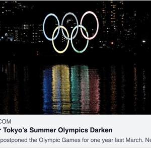「東京五輪開催に暗雲」ニューヨーク・タイムズ