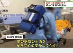 せまりくる医療逼迫ひたひたと東京の感染今週爆発