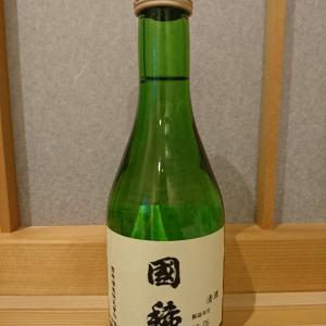 北海道の地酒・國稀と肴は北海道のたこ