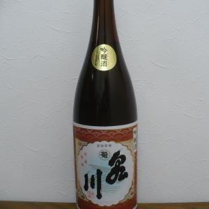 会津地酒・菊泉川と肴は桜鍋