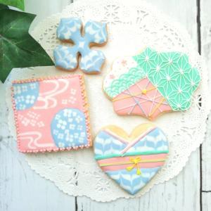 和柄アイシングクッキーレッスンのご案内です!
