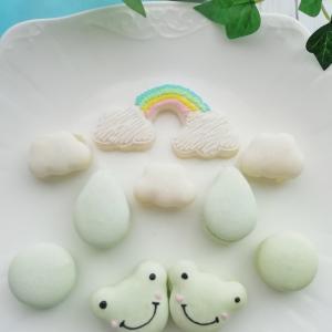 マカロンで虹も作れます!マカロンレッスンのご案内です!