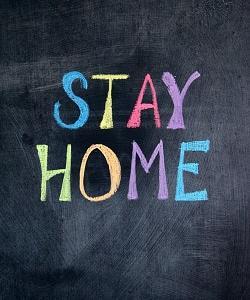 「Stay home」の使い方。(思考が現実化する)