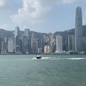 2019.10.22逃犯条例デモ中の香港3日目その3 復活した星光大道(アベニュー・オブ・スターズ)