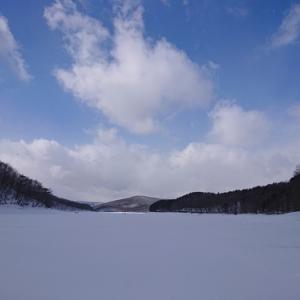 2020岩洞湖氷上ワカサギ第4戦