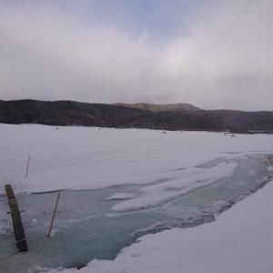 2020ラスト・岩洞湖氷上ワカサギ第6戦