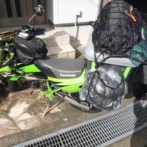 バイクでソロキャンプ 20回目