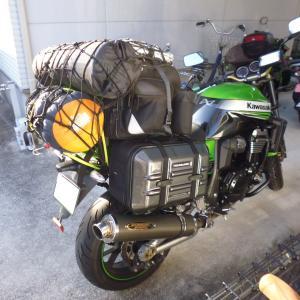 バイクでソロキャンプ 21回目