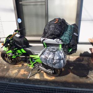 バイクでソロキャンプ 19回目