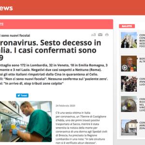 イタリアの報道より