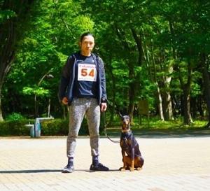 ドッグマラソン 東京大会‼️LUCA5位‼️