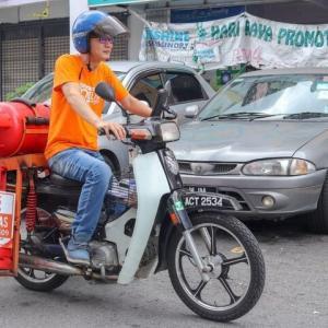 マレーシアのガス代は思わず鼻で笑っちゃうくらいに安い