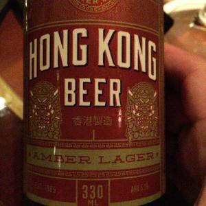 【香港食い道楽の旅 五軒目】香港の地ビールを楽しむ-Tiffany's New York Bar
